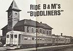 Nashua Union Station on B&M Buddliner poster, 1963.jpg
