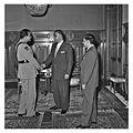 Nasser receiving the Maharajah of Jaipur and the Indian Ambassador Ratan Kumar Nehru (03).jpg