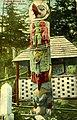 Native American totem pole, Ketchikan, Alaska, circa 1910 (AL+CA 6783).jpg