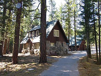 Manzanita Lake Naturalist's Services Historic District - Image: Naturalist's residence Lassen NPS1