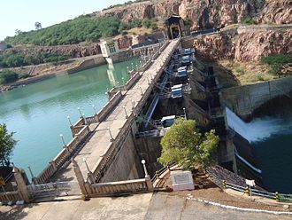 Malaprabha River - Navilateertha Dam, near Saundatti, Belgaum District, North Karnataka
