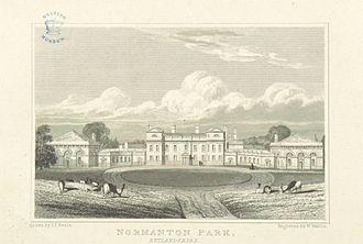 Sir Gilbert Heathcote, 1st Baronet - Normanton Park, Rutland