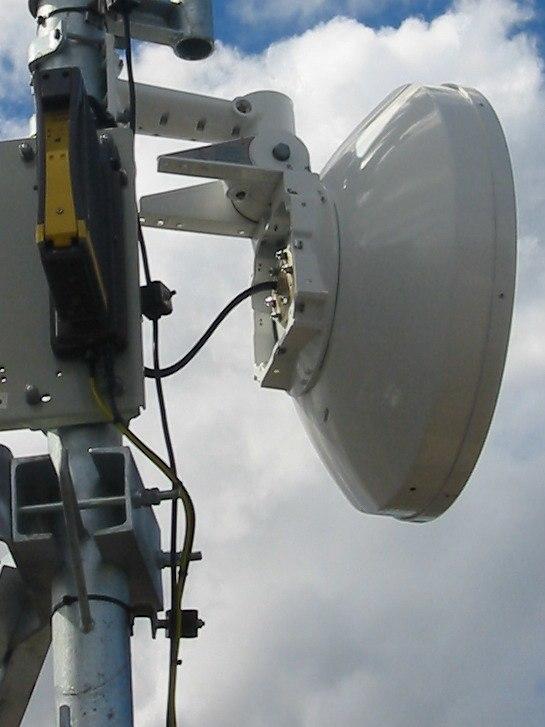 Nera microwave antenna