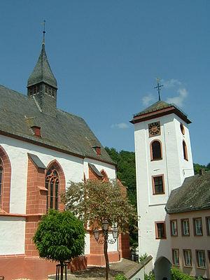 Neuerburg - Church and Gate tower
