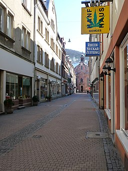Neugasse in Heidelberg