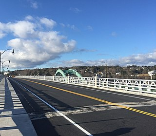 East River Bridge (Sheet Harbour) Bridge in Nova Scotia, Canada