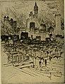New York from Brooklyn Bridge, by Joseph Pennell.jpg