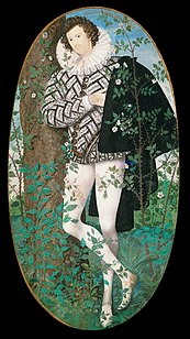 Nicholas Hilliard's Young Man Among Roses; 1587.[67]