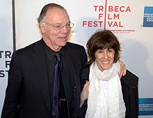 Nicholas Pileggi and Nora Ephron at the 2010 Tribeca Film Festival