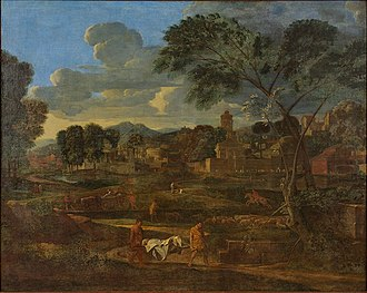 The Funeral of Phocion - Image: Nicolas Poussin The Burial of Phocion PJGH Glass House 04