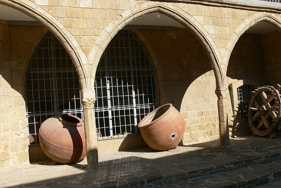 Nicosia - Volkskundemuseum 3b Kreuzgang
