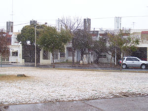 Pergamino - Snow in 2007, Pergamino's first since 1975.