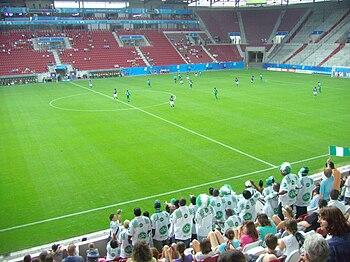 Nigeria–Japan at 2010 FIFA U-20 Women's World ...