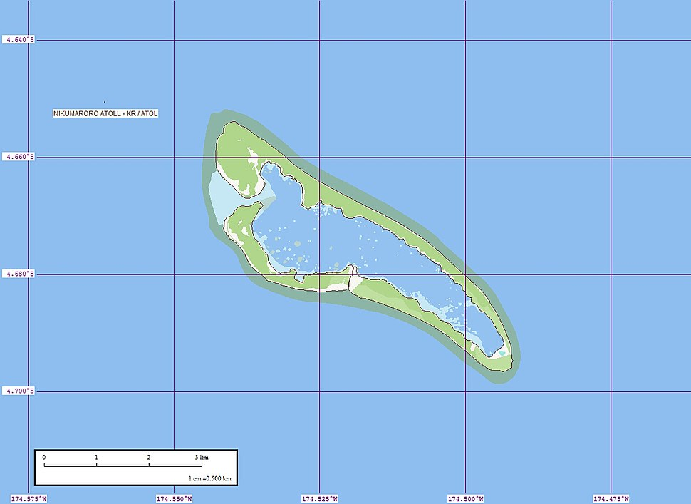 Nikumaroro Map