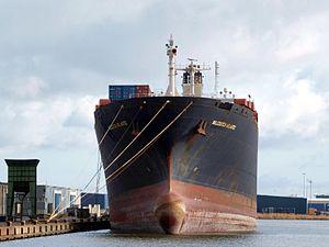 Niledutch Atlantic IMO 7702889 at Port of Amsterdam 08Feb2009.JPG