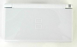 Nintendo DS Lite - Image: Nintendo DS Lite (closed)