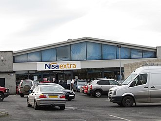 Nisa (retailer) - Nisa Extra shop in Rathfriland in October 2011