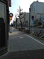 Nishiki-dori Street from Nishikidori-Fushimi Crossroads (east).jpg