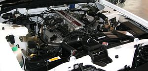 Nissan VG engine - VG20E in a Nissan Leopard.