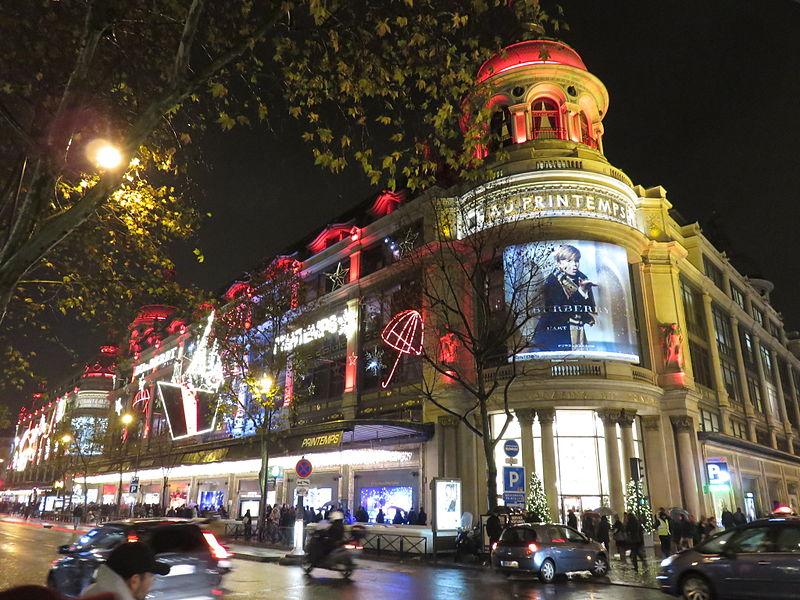 Cidade de Paris em dezembro