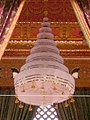 Nobapadol Maha Svetachatra above King Bhumibol Adulyadej's funeral pyre.jpg