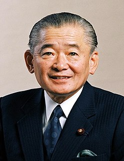 Noboru Takeshita The 74th Prime Minister of Japan