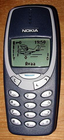 Dejlig Nokia 3310 (2000) - Wikipedia, den frie encyklopædi CP-47