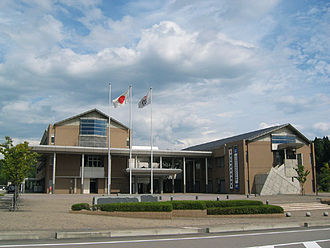 Nomi, Ishikawa - Former town office of Tatsunokuchi. The office for the mayor is located in this building.