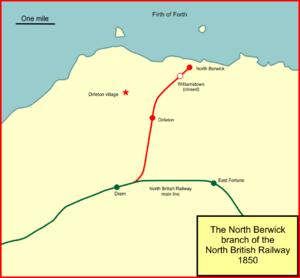 North Berwick Branch - The North Berwick branch line