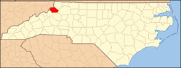 North Carolina Map Highlighting Watauga County.PNG