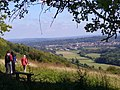 North Downs Way by Ranmore Roundabout - geograph.org.uk - 557464.jpg