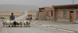 Xiahe County - near Sangke, Gansu Province