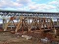 Northeast Corridor bridge over NECR, December 2018.JPG