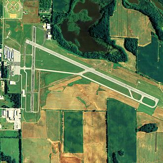 Northwest Alabama Regional Airport - NAIP image, 2006
