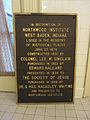 Northwood Institute (West Baden, Indiana) plaque 02.jpg
