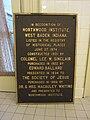 Northwood Institute (West Baden, Indiana) plaque 02.jpg