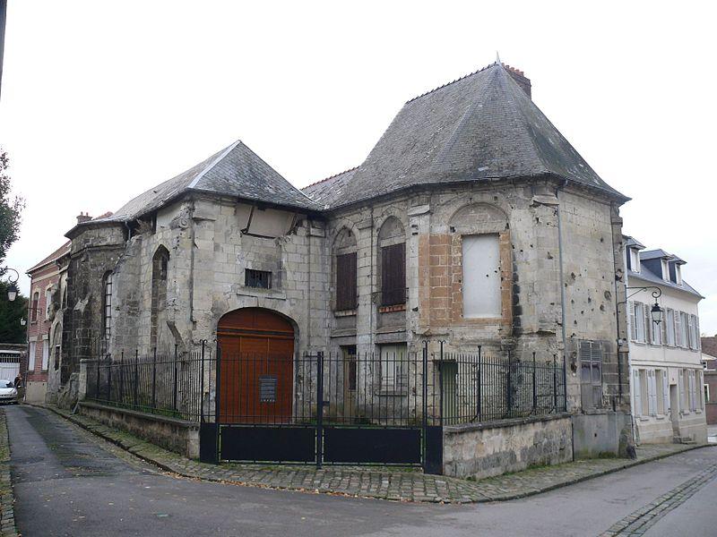 Former Sainte-Marie-Madeleine's church, in Noyon (Oise, France).
