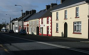 Moneygall, County Offaly, Ireland.
