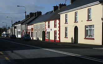 There's No One as Irish as Barack O'Bama - Main Street, Moneygall where in Ollie Hayes' pub the song was first performed.