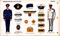 ONI JAN 1 Uniforms and Insignia Page 021 German Navy Kriegsmarine WW2 Commissioned, warrant and 1st class petty officers. Caps, national emblem, cap device, shoulder insignia, blue and white uniform, etc. Feb. 1943 Field recognition No.jpg