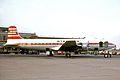 OY-BAS DC-6B Sterling Aws LPL 11AUG64 (5575539960).jpg