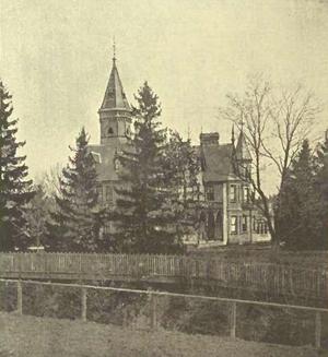 De La Salle College (Toronto) - The Oaklands estate, seen here in 1891