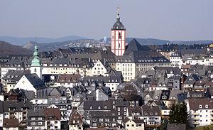 Siegen - Upper town