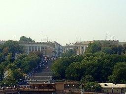 Odessa, med Potemkintrappen.