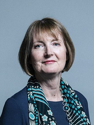 Harriet Harman - Official Parliamentary portrait, June 2017