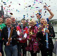 Offizielle Eröffnung Straßenparade - ColognePride 2011 (7771).jpg