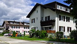 Offizierswohnhäuser Khevenhüllerkaserne Klagenfurt 02.jpg