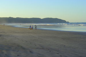 Ohope Beach - Early morning on Ōhope Beach in summer