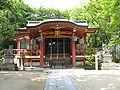 Okamoto-hachiman-jinja haiden.jpg