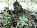 Old Laigh Borland Farm, Dunlop, East Ayrshire, Scotland. Old pigsty ruins.jpg